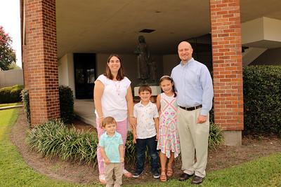 2018-07-29 Mike C & family, Deacon Dan