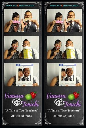 6-26-2015 Vanessa & Tonichi Wedding