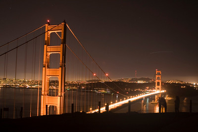 Golden Gate Bridge Night Shots 12.17.08