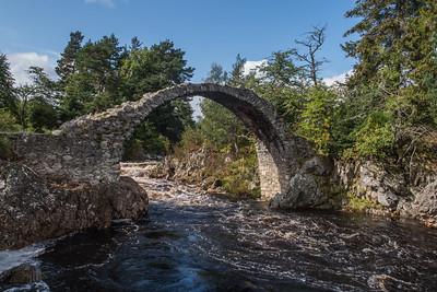 Carrbridge - Packhorse Bridge