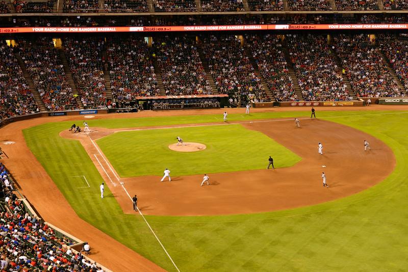 2014-07-29 Rangers Yankees 006 (Arencibia Grand Slam).jpg