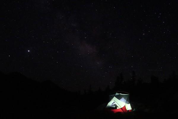 Desolation Wilderness overnight hike July 2020