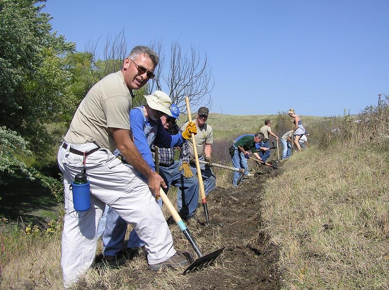North Dakota: Ladies Line Trail Segment of the North Country Trail