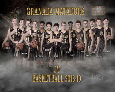 GHS JV Basketball 2018-19