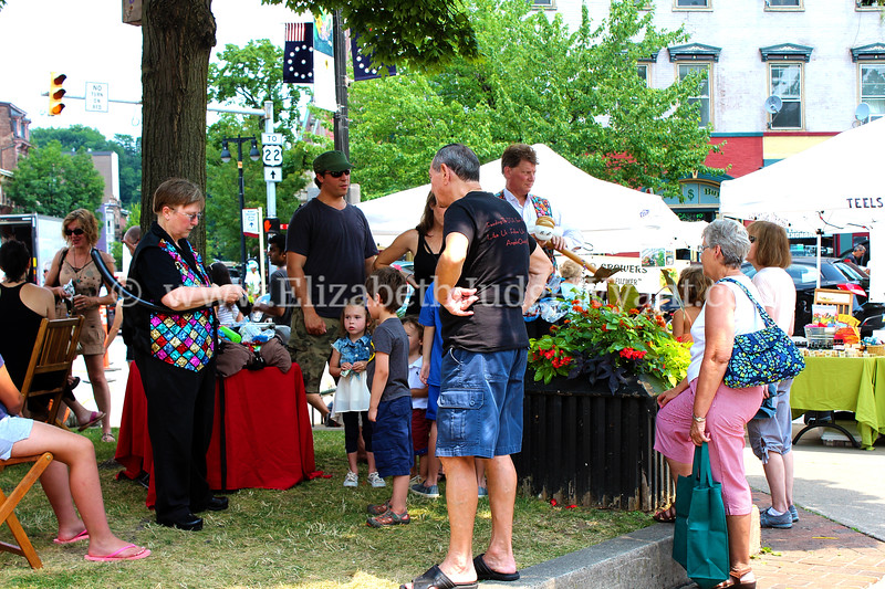 Easton Farmers Market Birthday 2014, Easton PA est 1752
