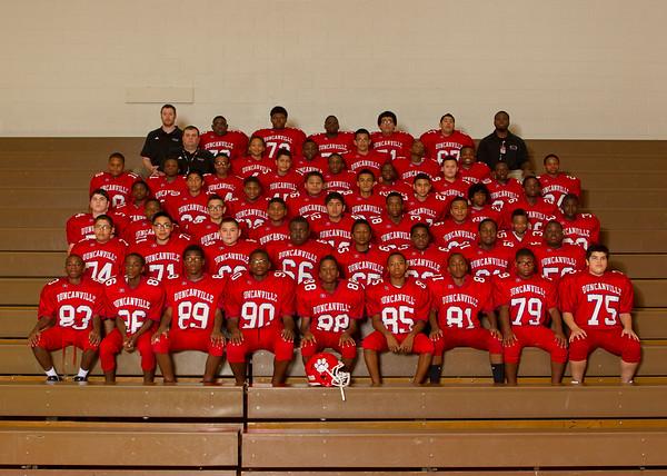 Byrd Middle School Football