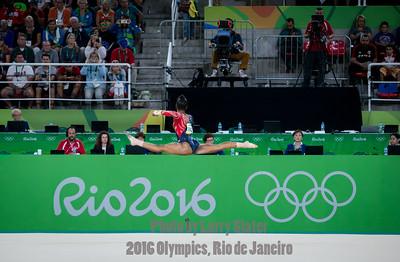 Women's Gymnastics: 2016 Olympics Rio