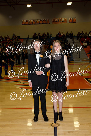 Basketball Homecoming Court  1/11/19