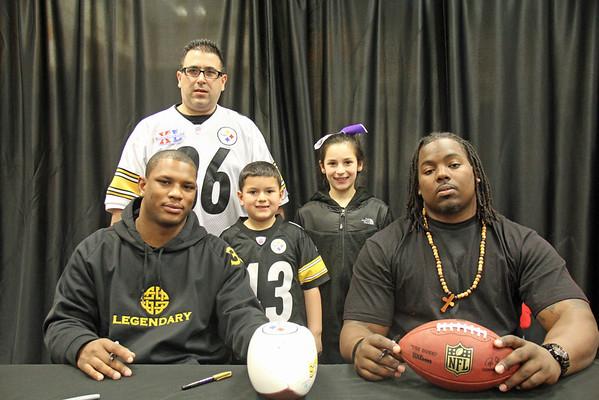 3/10/13 - Pittsburgh Steelers Isaac Redman & Steve McLendon