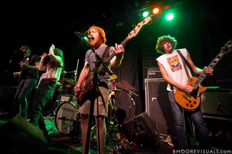 Tony Smith, Alex Kandel, Lee Williams, and Josh Martin of Sleeper Agent perform on March 7, 2012 at State Theatre in St. Petersburg, Florida