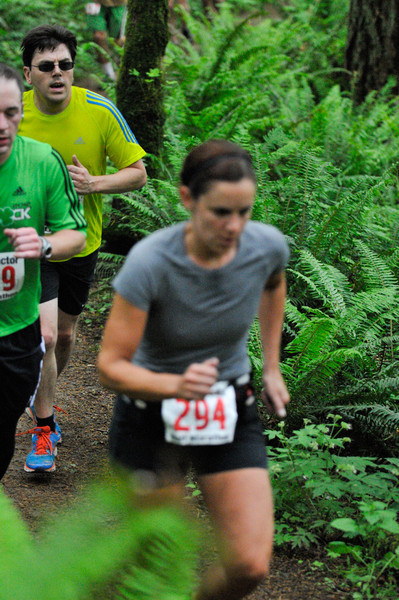 2012 Trail Factor Half Marathon and 50K_Forest Park
