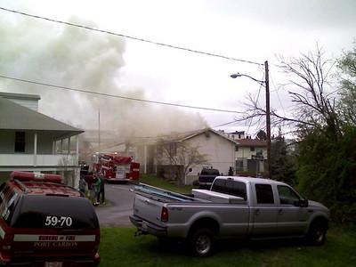 PORT CARBON STRUCTURE FIRE 4-30-2009