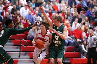 Boys Varsity Basketball - 1/23/2015 Muskegon Catholic Central