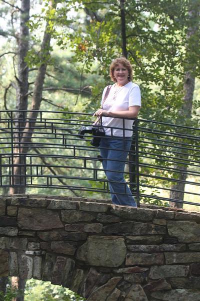 Carol at Garvan Woodland Gardens.