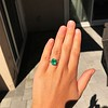 3.08ct Vintage Emerald Solitaire, by Tiffany & Co 14