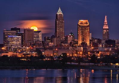 Cleveland Moonrises