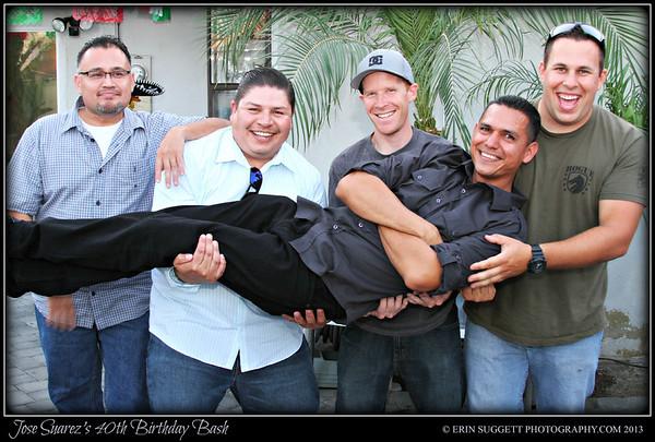 Jose Suarez's 40th Birthday Bash