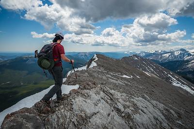 2017-05-28 Nihahi North peak and Compression ridge