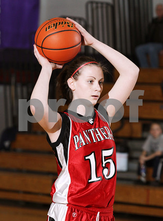 2012 Austin Girls JV Basketball @ Coudersport