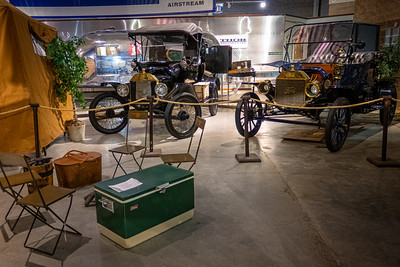 1915 Model T Ford with 1916 Telescope Apartment and Model T Ford