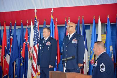 "Lt Col Fernado ""Fern"" Colon retirement"