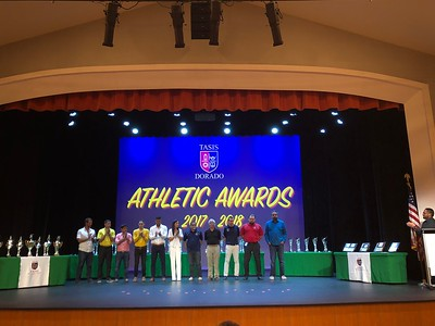 2018 Athletic Awards Upper School
