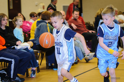 Upward Basketball - Feb 18, 2012