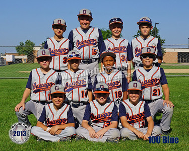 2013 10U Blue Player Pictures