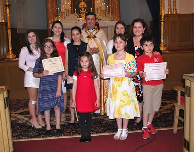 Special Awards Ceremony for Church Schools and Trinity Summer Kickoff, June 12, 2016