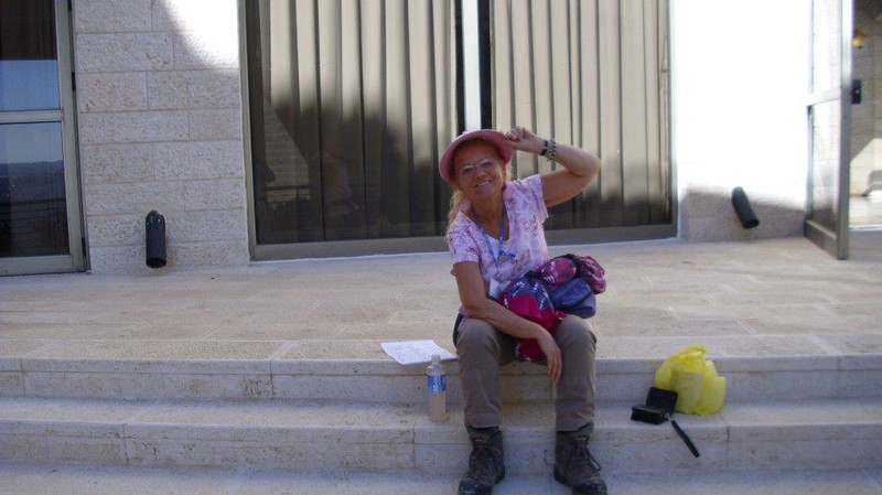 Sally in Israel (late summer 2013?), part 4