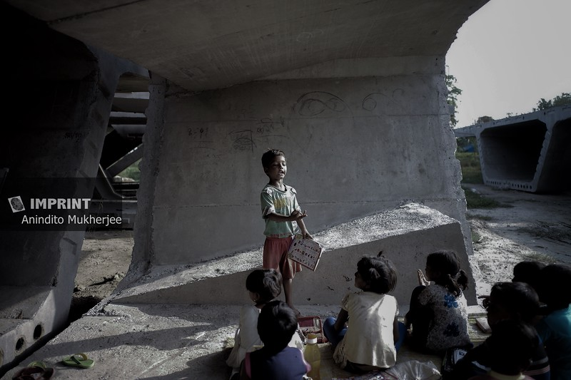 Picture story : School of a Struggler - Bihar, India
