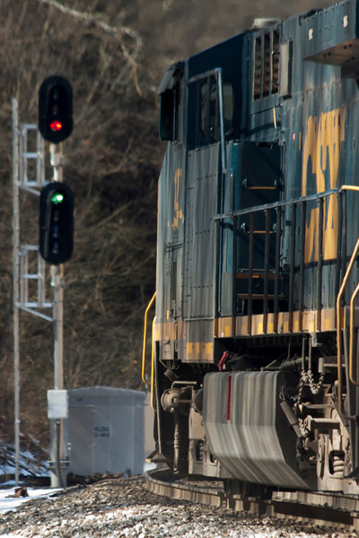 A Day on the Alleghany (February 22, 2014)
