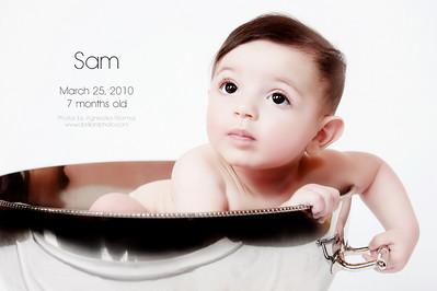 Baby Sam, 7 months old