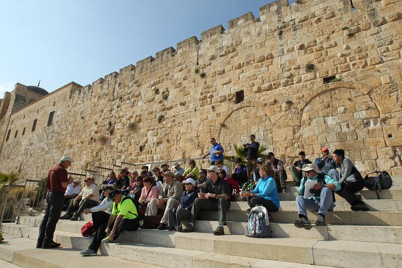 Israel 2017 - Day 1 - NT Jerusalem