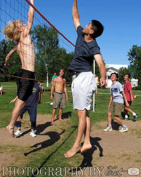 8-06-2005 Volleball: Japanese School Sensei vs. Students