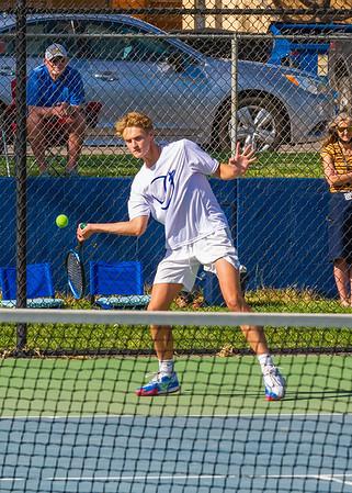 2021-04-13 Dixie HS Tennis vs Desert Hills - 3rd Singles