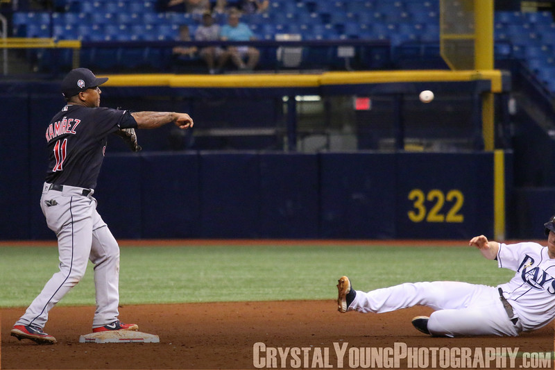 Cleveland Indians at Tampa Bay Rays Tropicana Field September 11, 2018