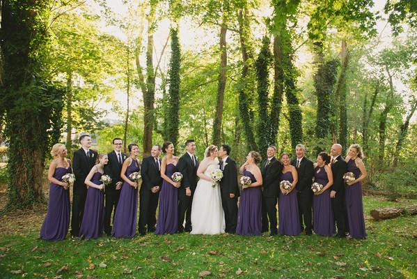 Sharon & Steve : Wedding Party & Family Formals