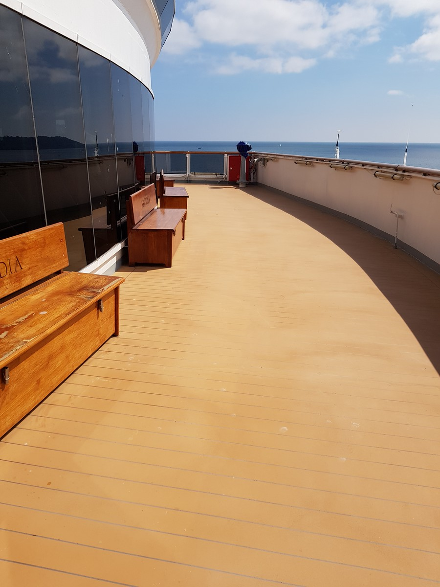P&O Arcadia Secret Deck