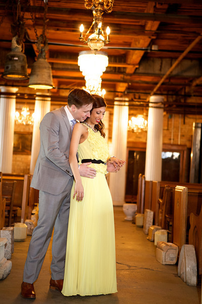 Le Cape Weddings - Neha and James Engagement Session at Salvage One Chicago - Indian Wedding  043.jpg