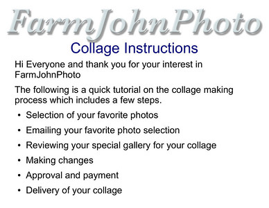 Collage Instructions