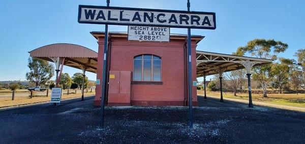 Wallangarra Railway Station, NSW/QLD Border