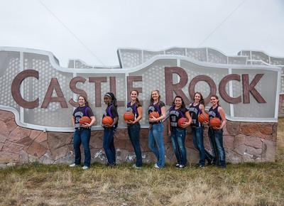Douglas County Girls BB team
