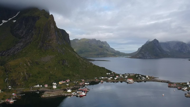 9-1-17241664lofoten Nusfjord Fishing Village.MP4