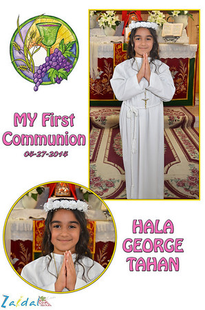 first communion at mother of zunnoro 2014