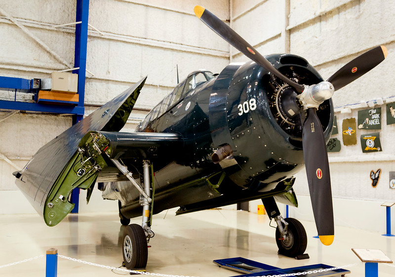 "Grumman TBM-3E ""Avenger"", carrier-based torpedo bomber.   (Type flown by George H. W. Bush in WW-II)"
