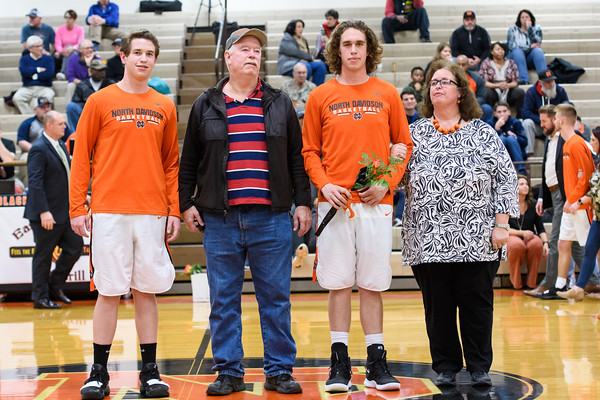 NDHS Senior Night 2019