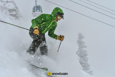 02252017  Snowy Powder on Pork Barrel