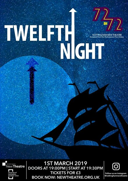 Twelfth Night poster