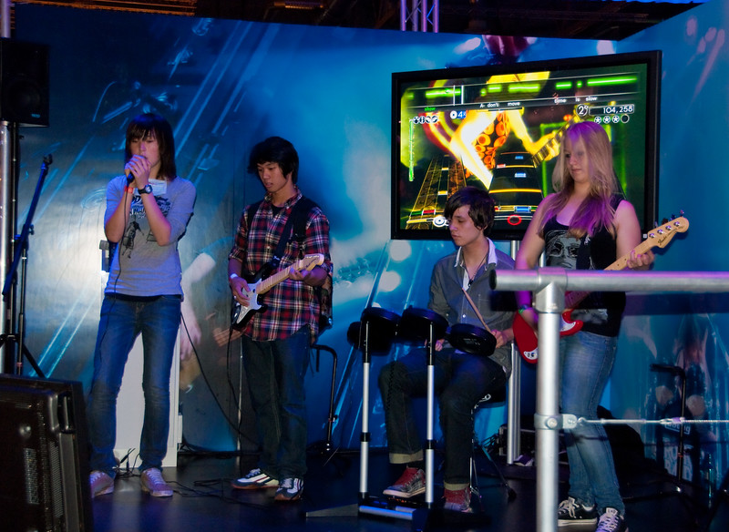 Rock Band at GamesCom